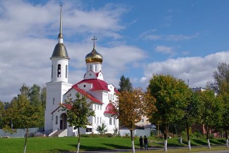 Центр благочиния – Храм Святой мученицы Татианы г. Витебска